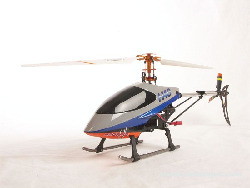 Detail Produit Scorpio 2000H40M1 Helicoptère H40 Flybarless Complet (mode1)