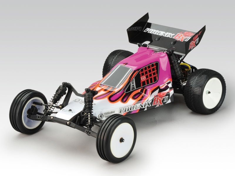 voiture rc thunder tiger phoenix bx tt 1 10 electrique rose. Black Bedroom Furniture Sets. Home Design Ideas