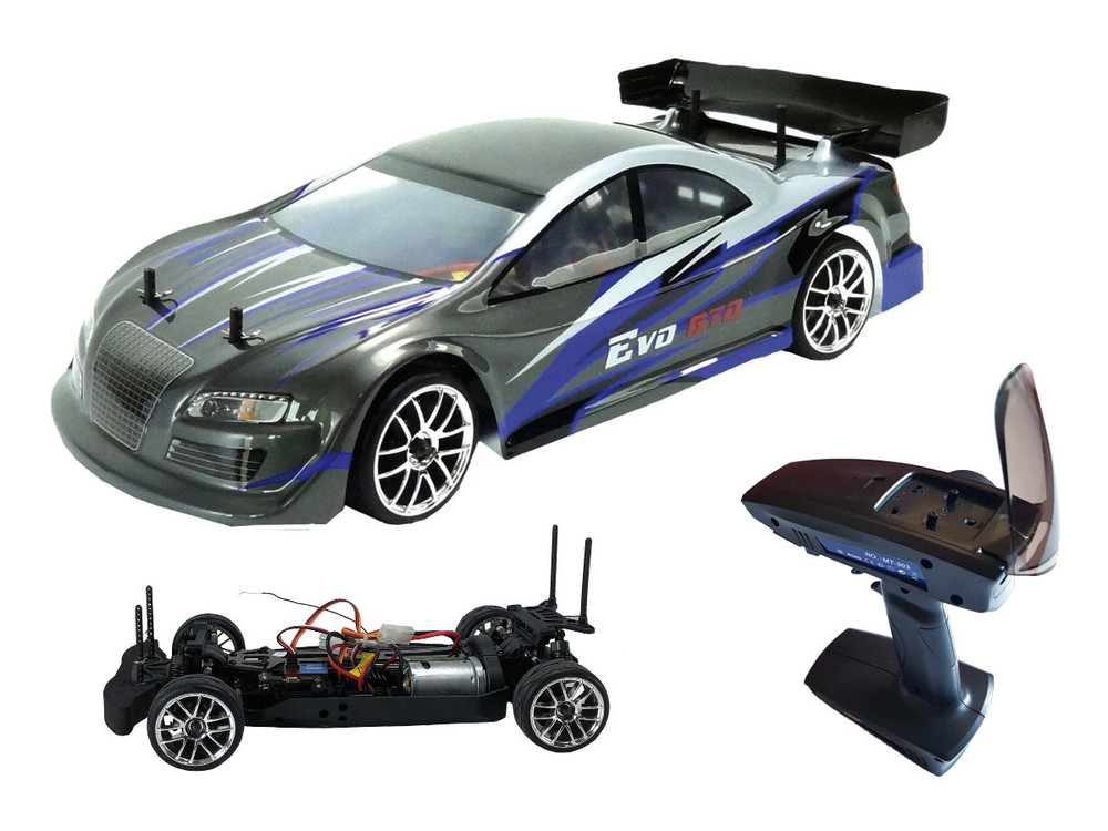 Detail Produit Blackbull 94303 Voiture RC piste blackbull EVO 1/10 electrique brushed ( RTR Complet)