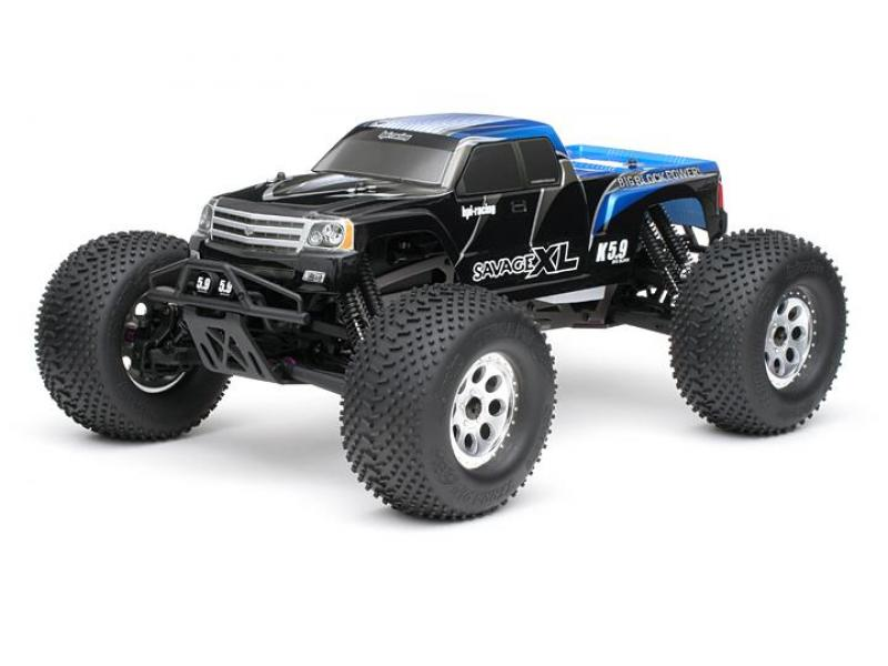 Detail chassis Savage XL 5.9 2.4ghz RTR