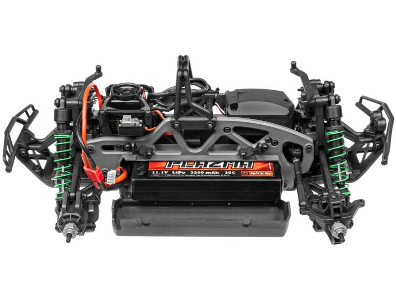 Detail chassis HPI Savage XS Flux Vaughn Gittin Jr. Signature Edition
