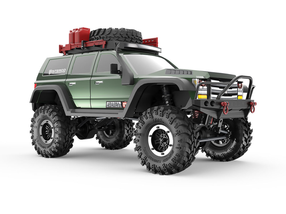 Achat Redcat Racing RC00002 Crawler Redcat EVEREST Gen7 PRO - GREEN EDITION