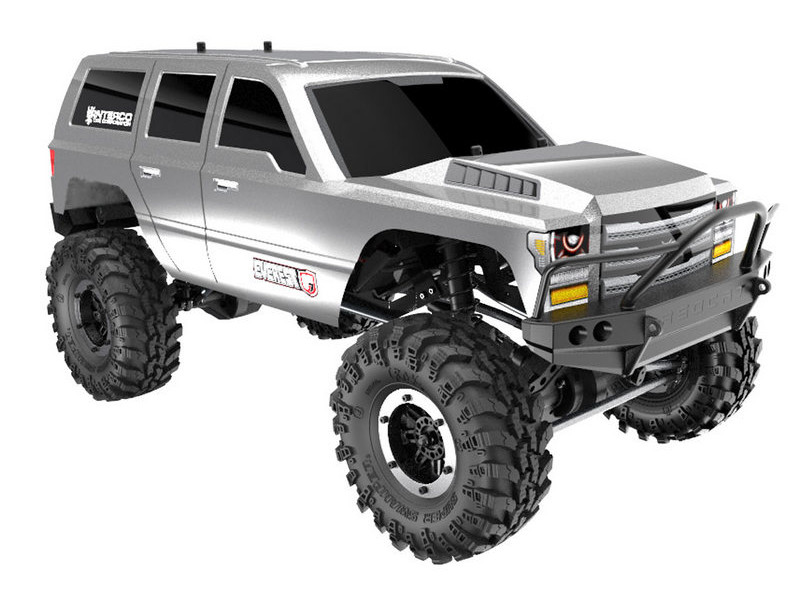 Achat Redcat Racing RC00003 Crawler Redcat EVEREST Gen7 SPORT - SILVER EDITION