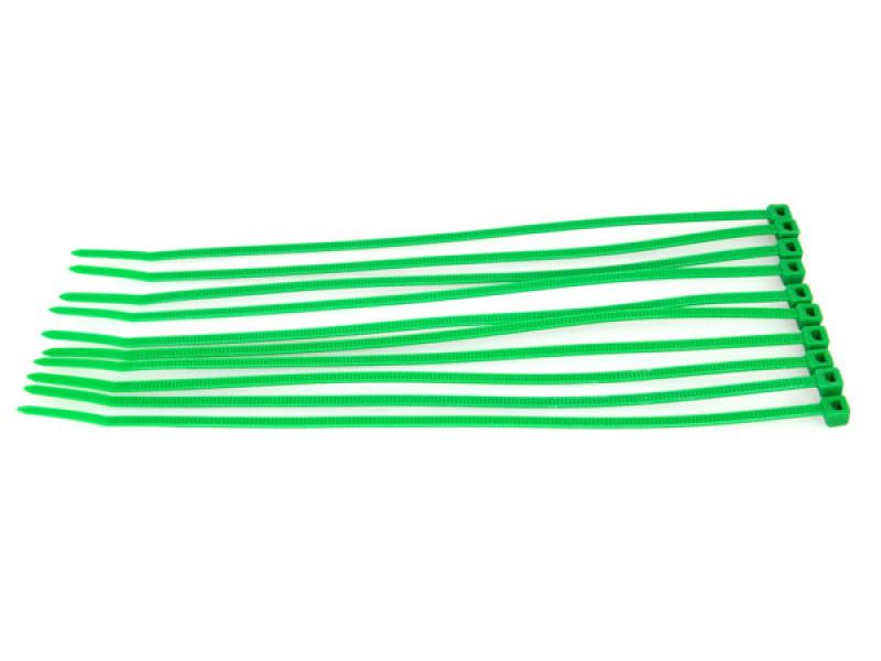 conception adroite grande remise nouveau produit Collier Rilsan plastique vert fluo 20cm (x10)