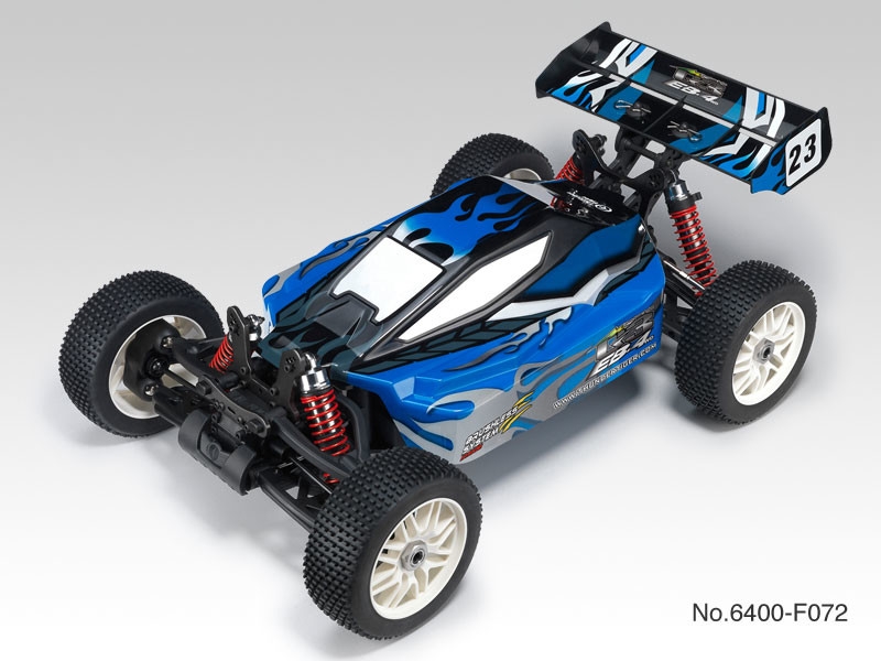Achat Thunder Tiger T6400F82 TT 1/8 brushless EB-4 G3 + radio 2.4Ghz + Brushless 150A + vario (Bleu)