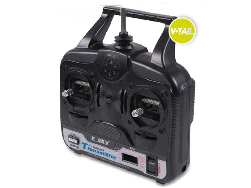 Detail Produit Esky 08010010 Radio E-sky 4 voies V-TAIL