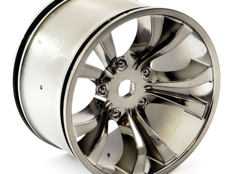Detail Produit Hobao HOP-0088 hobao hyper mt chrome grey wheel