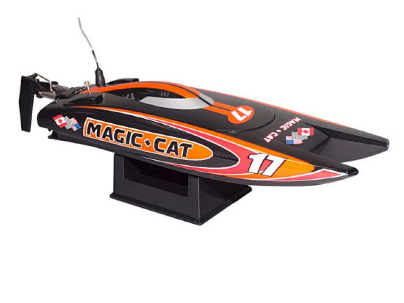Detail Produit Joysway Z0218108V4 Micro Magic Cat complet avec radio batterie et chargeur