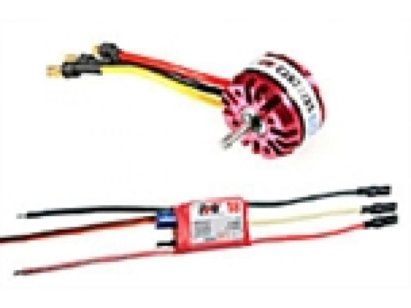 Achat RC System RAY1035 moteur obl c2822/25 1400kv 70w + variateur ray 18a bec