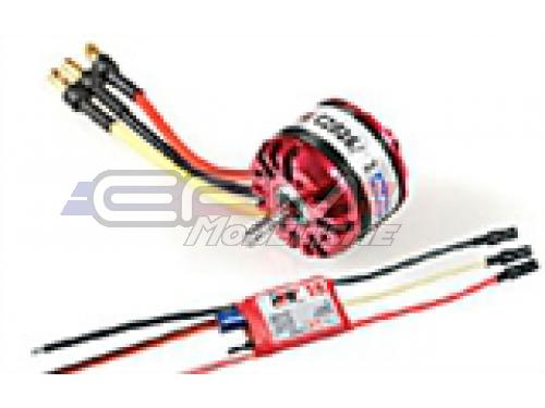 Achat RC System RAY1055 moteur obl c2826/12 1350kv 140w + variateur ray 18a bec