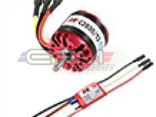 Achat RC System RAY1085 moteur obl c2830/12 1000kv 180w + variateur ray 18a bec