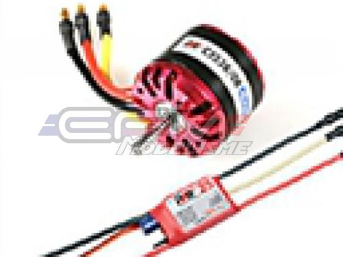 Achat RC System RAY1165 moteur obl c3536/08 1000kv 400w + variateur ray 25a bec