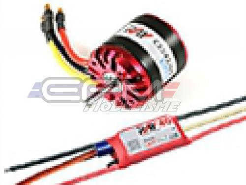 Achat RC System RAY1175 moteur obl c3542/05 1250kv 540w + variateur ray 40a bec