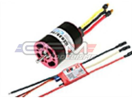 Achat RC System RAY2015 moteur ibl b2835/16 2200kv 220w  + variateur ray 25a bec