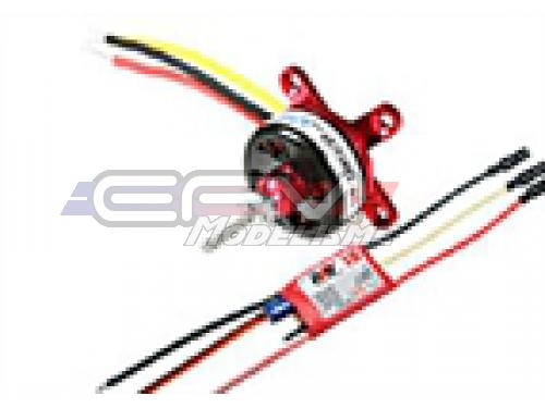 Achat RC System RAY3025 moteur cdr cd2822/27 1200kv 85w + variateur ray 18a bec