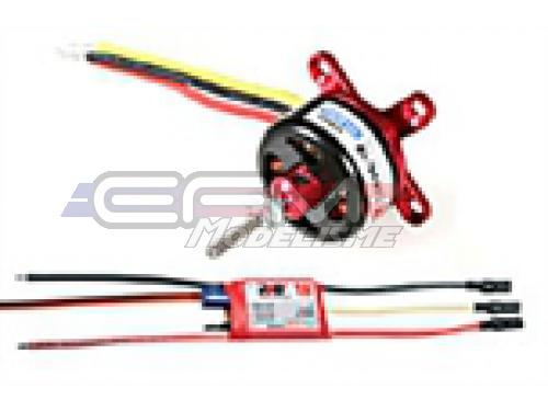 Detail Produit RC System RAY3045 moteur cdr cd2826/18 1000kv 140w + variateur ray 18a bec