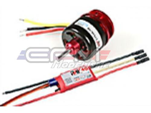 Achat RC System RAY3095 moteur cdr cd3536/08 1000kv 400w + variateur ray 40a bec