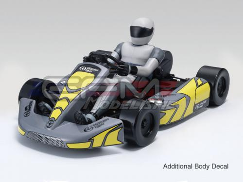 Achat Thunder Tiger T6570F73 Kart RC KT8 brushless + radio2.4ghz + accus + chargeur (jaune)