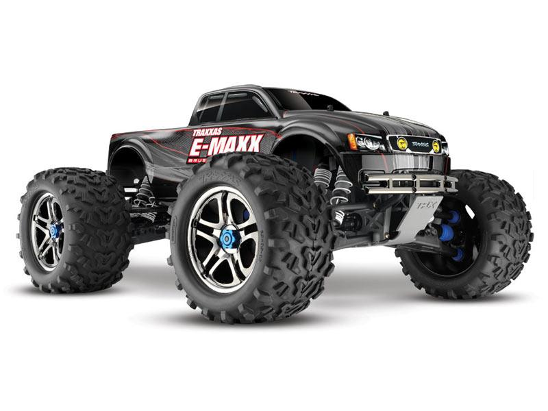 Detail Produit Traxxas 3908 e-maxx brushless edition - 4x4 - 1/10 brushless - lipo
