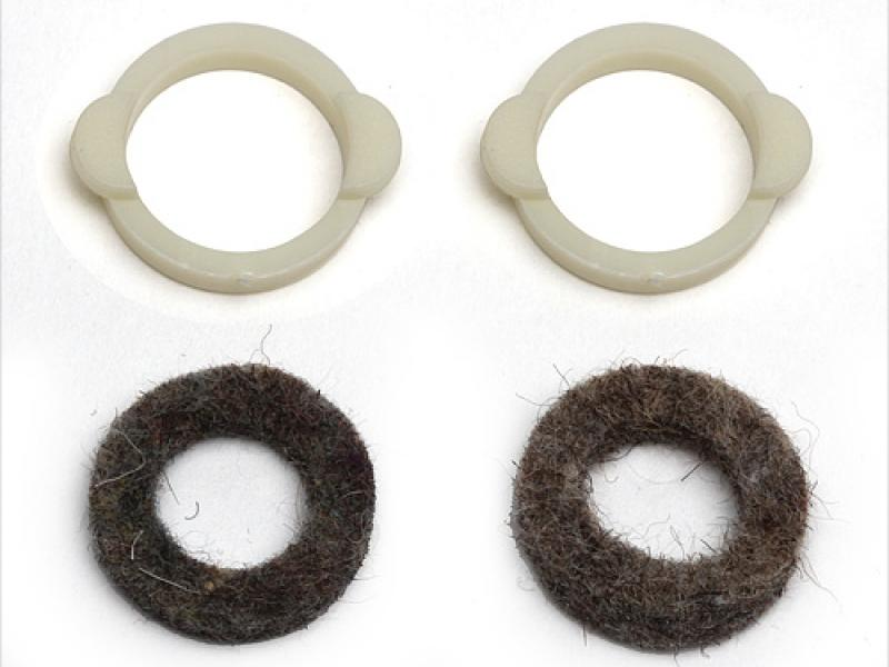 Detail Produit Team Associated 6633 rc10 felt seal set