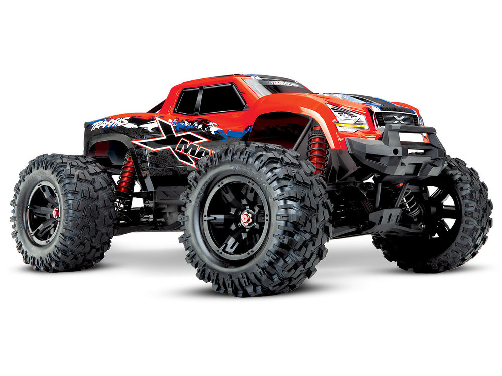 Achat Traxxas TRX77086-4-RED X-MAXX 8S brushless ID TSM Wireless Rouge