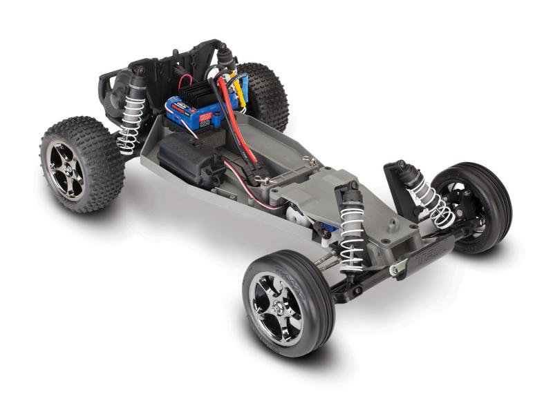 Detail chassis Traxxas Bandit Rock 'n roll  4x2  1/10 vxl brushless TSM (sans batterie / chargeur)