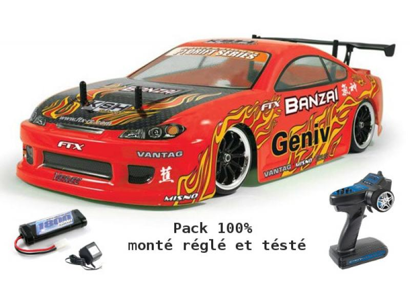 voiture rc drift ftx banzai. Black Bedroom Furniture Sets. Home Design Ideas