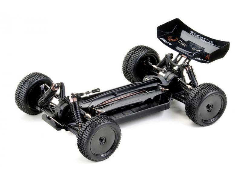 Detail chassis Buggy Absima AB2.4 KIT (kit seul à monter)