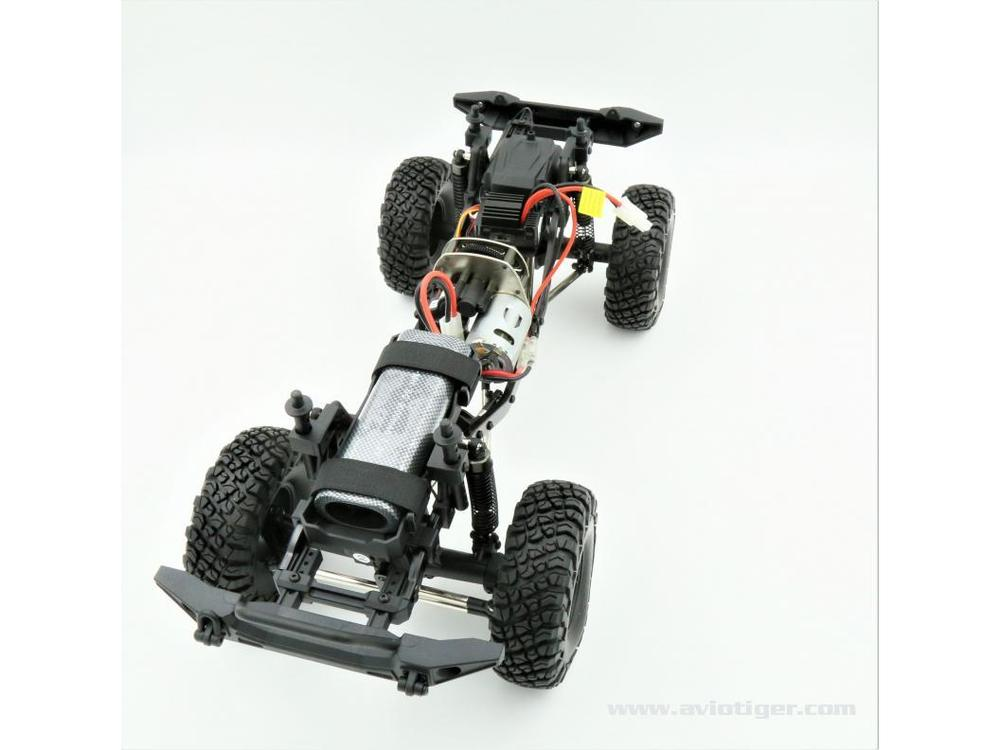 Detail chassis Crawler Bull Scaler 1/10 Electrique