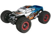 Monster Truck MT-4 G3 bleu super combo brushless (radio 2.4g + moteur + vario) Thunder Tiger