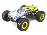 Monster Truck E-MTA + radio + moteur bruhless (Jaune /Blanc) Thunder Tiger