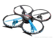 Drone H4 gravit 2.4g big + radio 2.4ghz + accus + chargeur (mode2) LRP