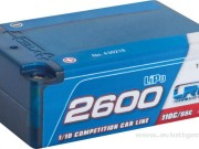 LRP 2700430218 Accu Lipo 2600 Shorty 7.4v 55c