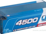 LRP 2700430227 Accu Lipo 4500 Shorty 7.4v 55c