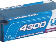 LRP 2700430228 Lipo 4300 Shorty St Sp 7.4v 55c