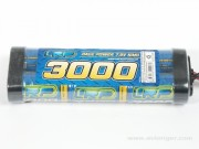 LRP 71115 Accus nimh  power race 7.2v 3000mah Tamiya