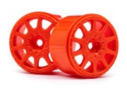 Hpi 113088 Jante rally micro 17mm orange (x4)