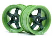 Hpi 113095 Jantes workmeister vert 26mm s2