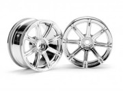 Hpi 87003300 JANTE EMOTION XC8 26MM  CHROME (deport 3mm)