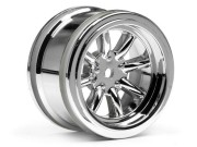 Hpi 3812 Jante 8 Br. Chrome 26mm/6mm