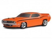 Hpi 7717 carrosserie plymouth cuda orange 200mm