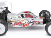 Carrosserie jekyll kit + stickers (rouge) Team C