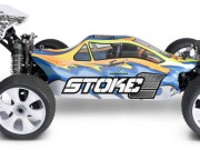 Buggy 1/8 Brushless  Stoke E TR8E 4wd +moteur + radio RTR