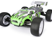 Truggy 1/8 brushless Torch E TR8TE 4wd + radio + moteur + controlleur Team C