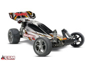 traxxas bandit - 4x2 - 1/10 vxl brushless - wireless - id - tsm