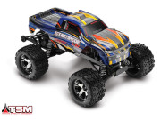 stampede - 4x2 - 1/10 vxl brushless - wireless - id - tsm