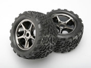 Traxxas TRX5374X Roues montees collees talon (2) (version brusless)