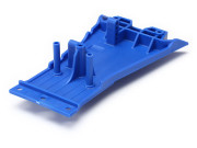 Traxxas 5831A Lower chassis, low cg (blue)