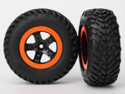 Traxxas 5864 Roues completes montees/collees sct/beadlock