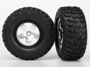 Traxxas 5880 Roues montees collees kumho pour 4x4 avant/arriere - 4x2 arriere (2)
